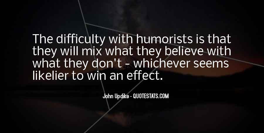 Humorist Quotes #307865