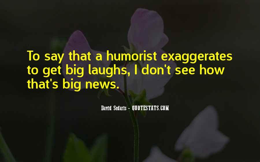 Humorist Quotes #650146