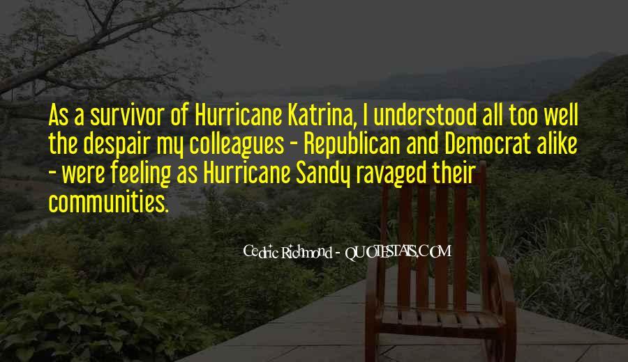 Hurricane Sandy Survivor Quotes #1073605