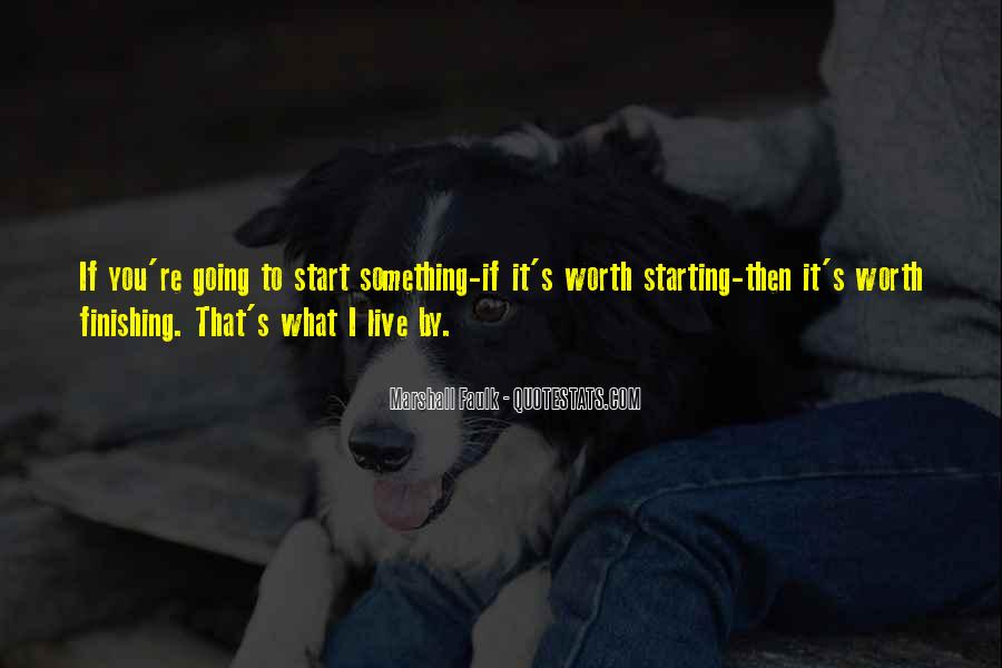 Quotes About Finishing What You Start #1038734