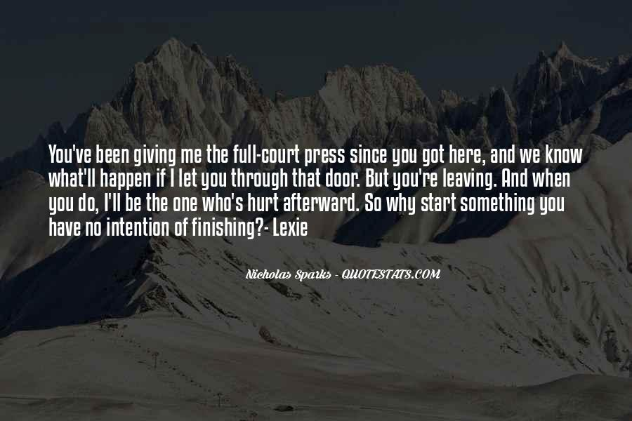 Quotes About Finishing What You Start #1300989