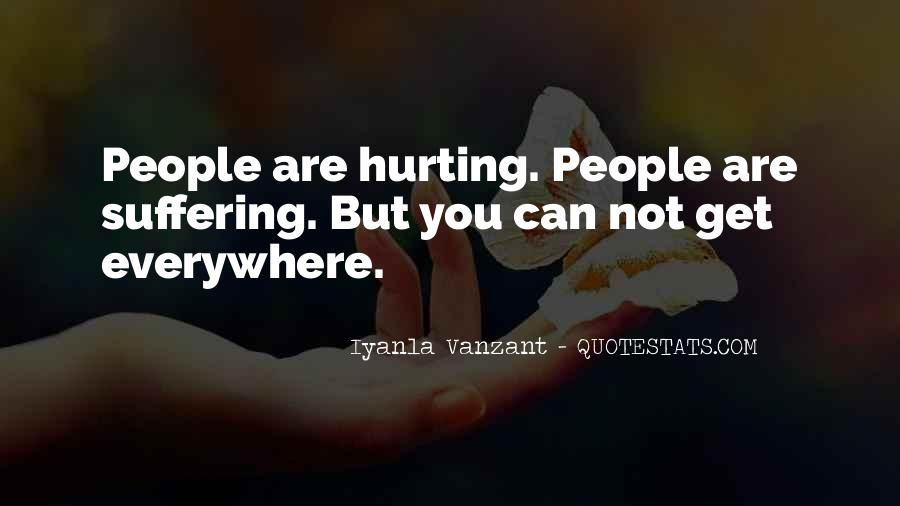 Hurt Before Quotes #13086