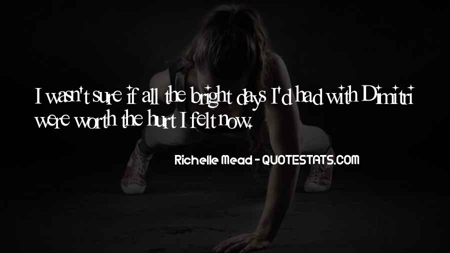 Hurt Before Quotes #14062