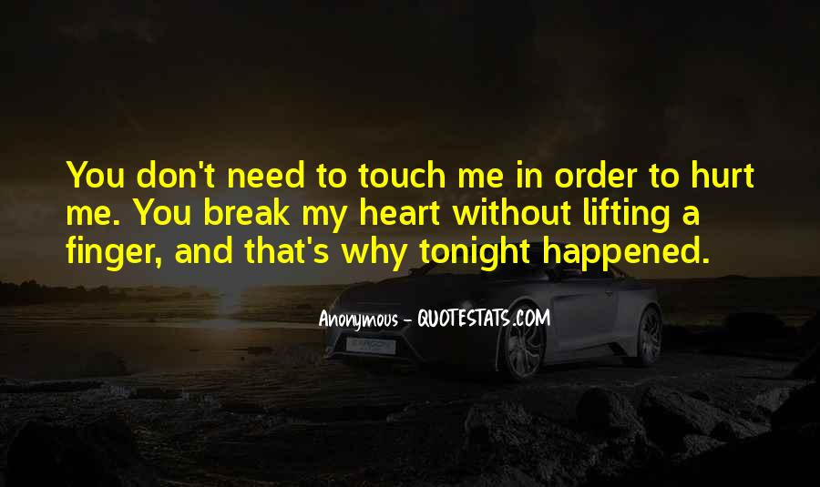 Hurt Before Quotes #14411