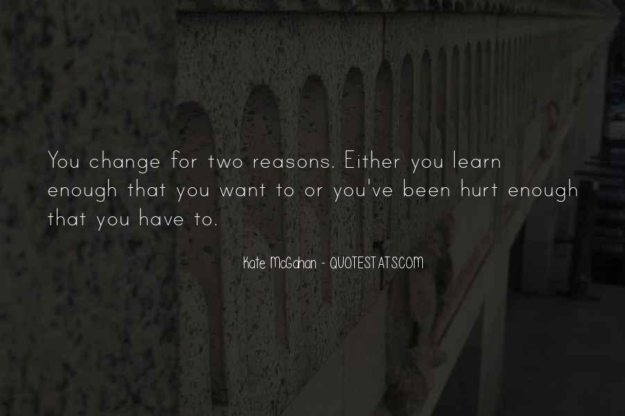 Hurt Before Quotes #14448