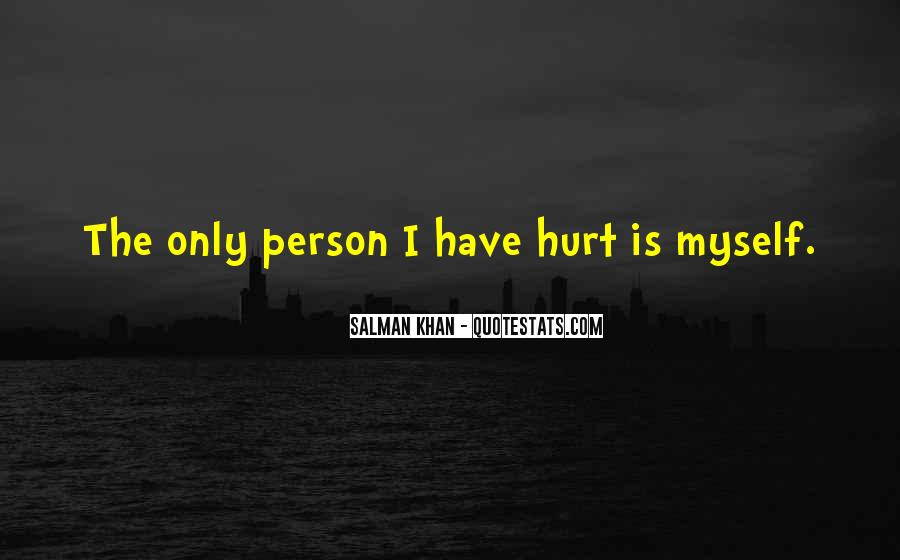 Hurt Before Quotes #20175