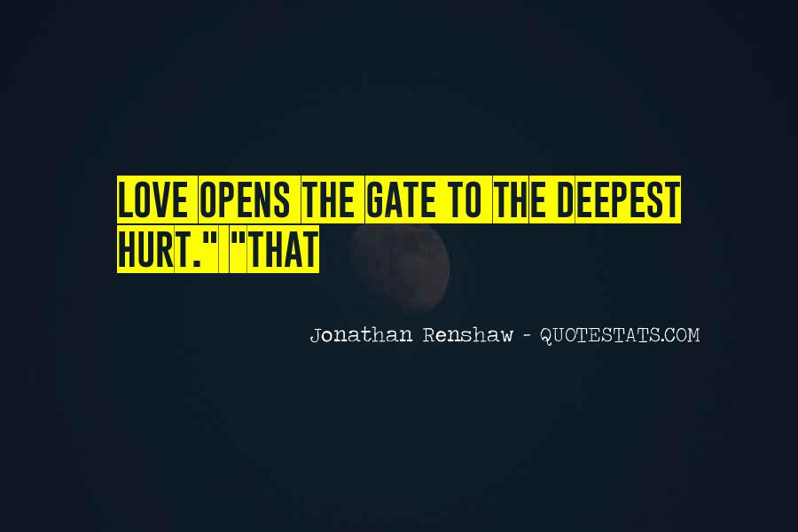 Hurt Before Quotes #23077