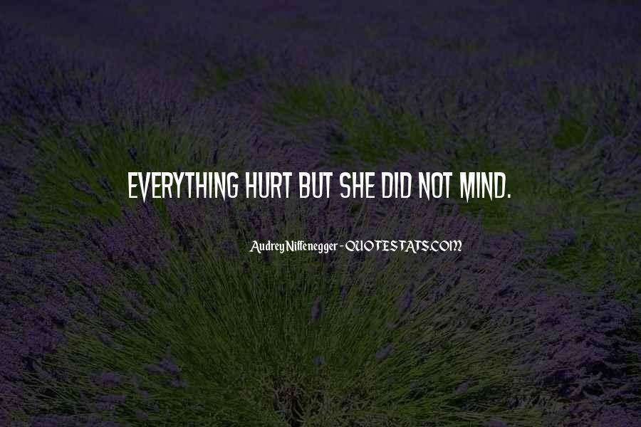 Hurt Before Quotes #25666