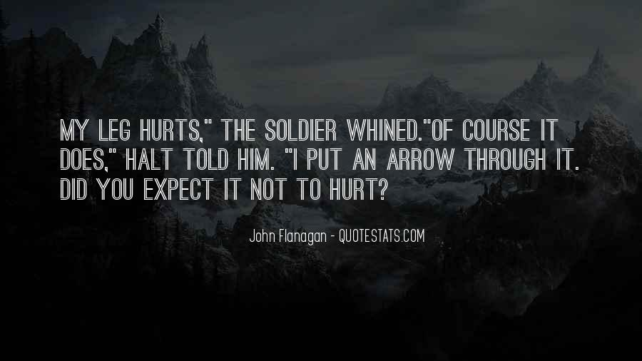 Hurt Before Quotes #7828
