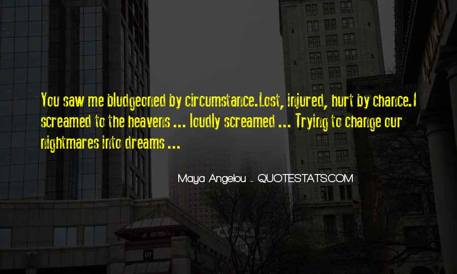 Hurt Or Injured Quotes #775065
