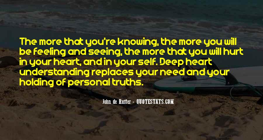 Hurt So Deep Quotes #1010833