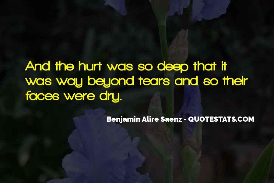 Hurt So Deep Quotes #1140371