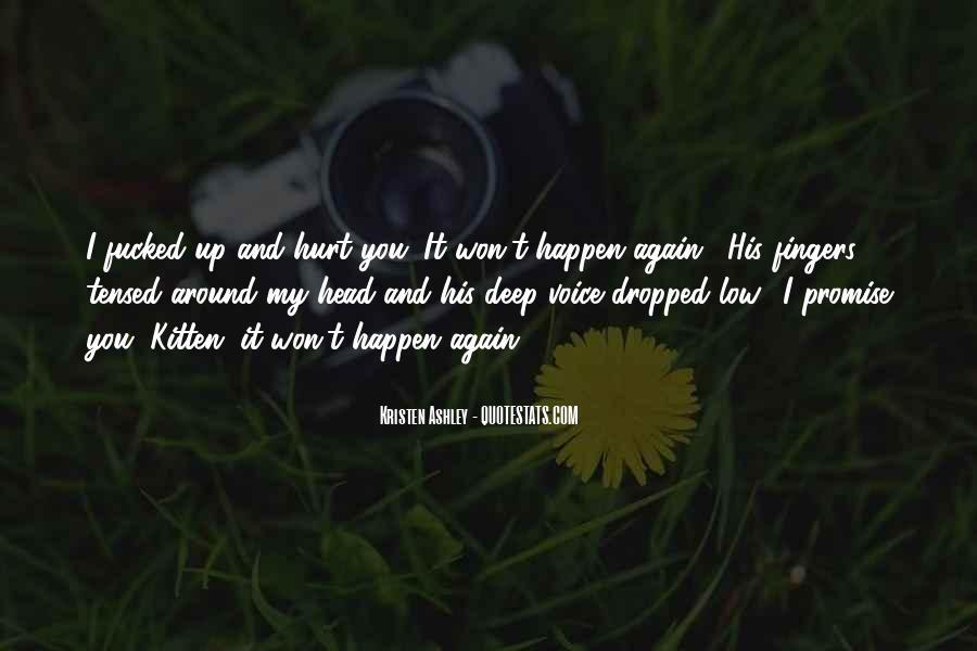 Hurt So Deep Quotes #1204860