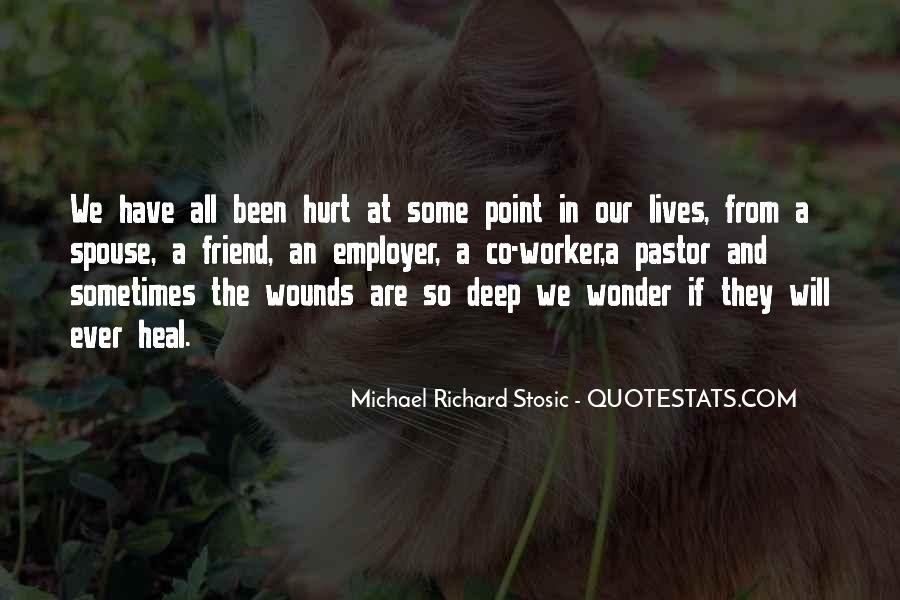 Hurt So Deep Quotes #453326