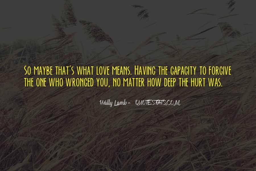 Hurt So Deep Quotes #779757
