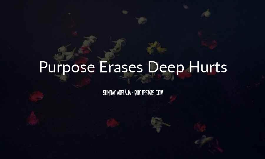 Hurt So Deep Quotes #996666