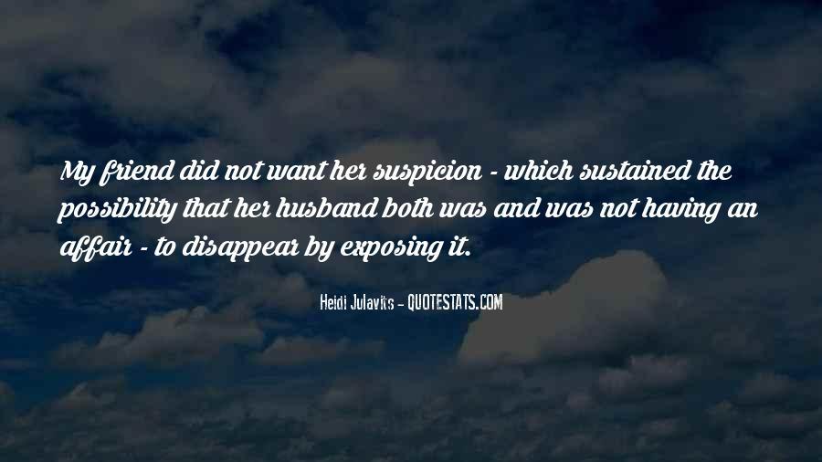 Husband Having An Affair Quotes #182850