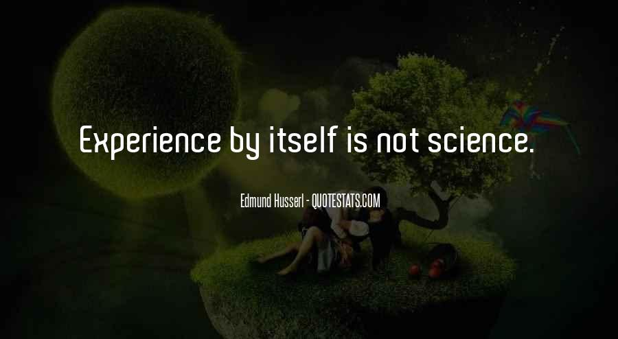 Husserl Quotes #1568882