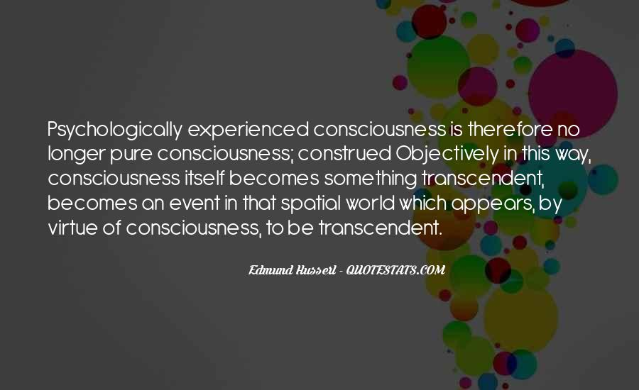 Husserl Quotes #1809032