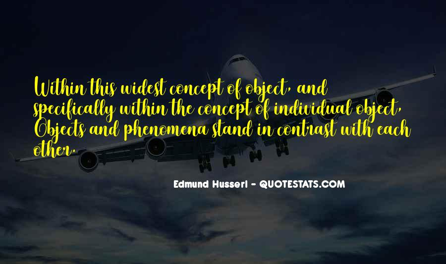 Husserl Quotes #449945
