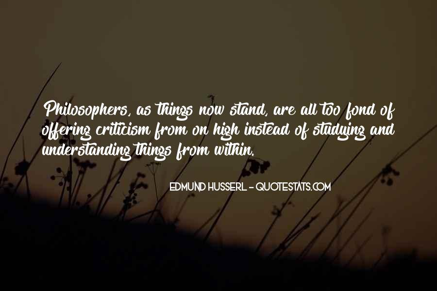 Husserl Quotes #628794