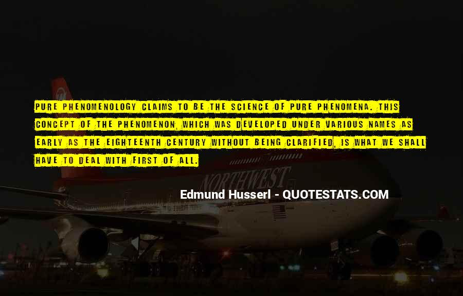 Husserl Quotes #932637