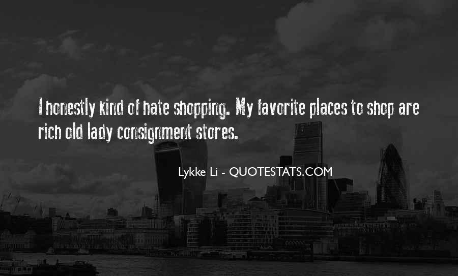 I A Lady Quotes #8308