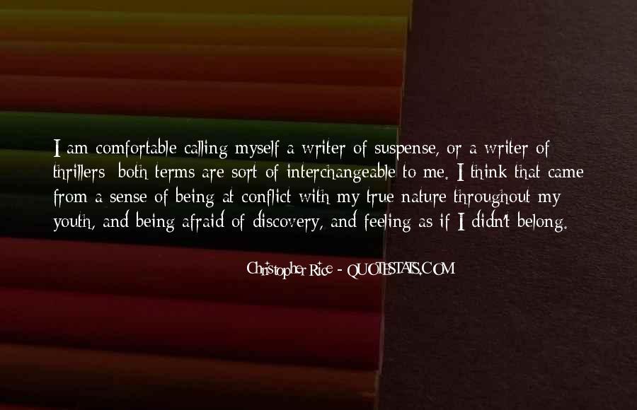 I Am Afraid Of Myself Quotes #1183248