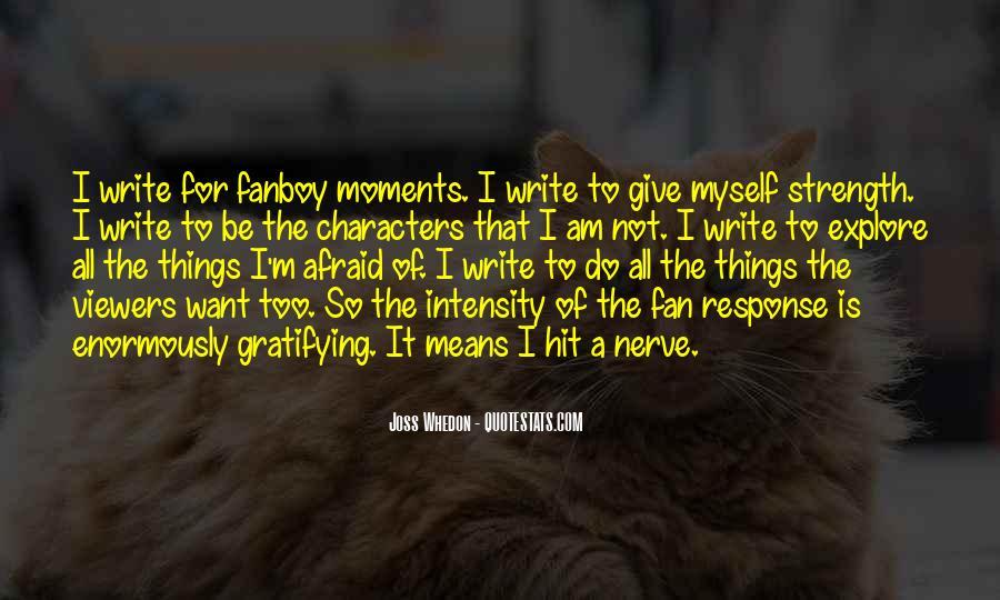 I Am Afraid Of Myself Quotes #1278891