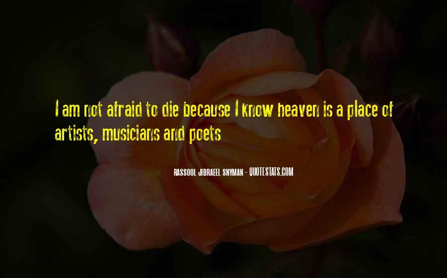 I Am Afraid Of Myself Quotes #6537