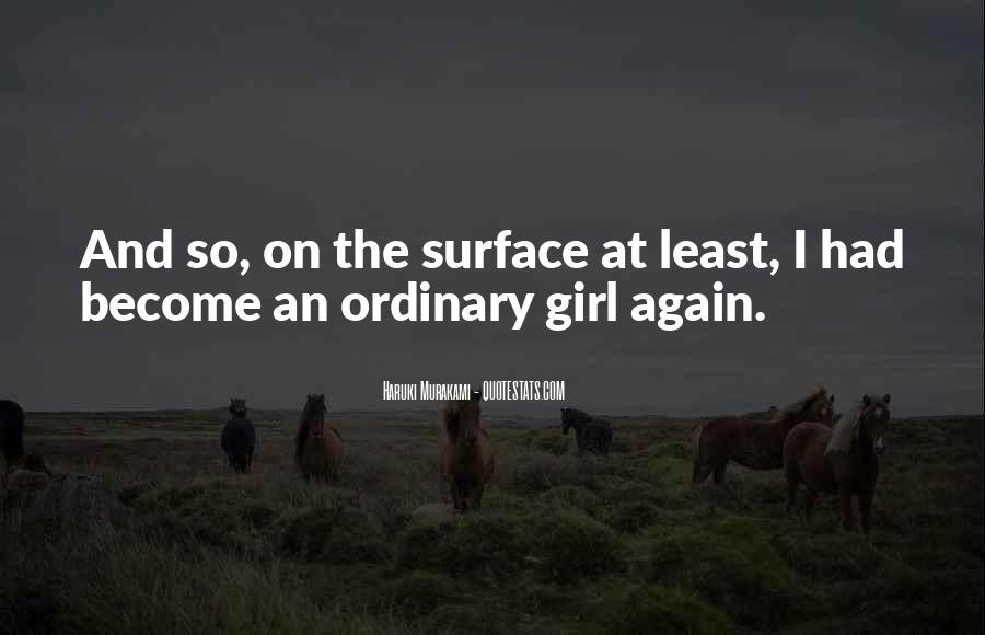 I Am An Ordinary Girl Quotes #1587600