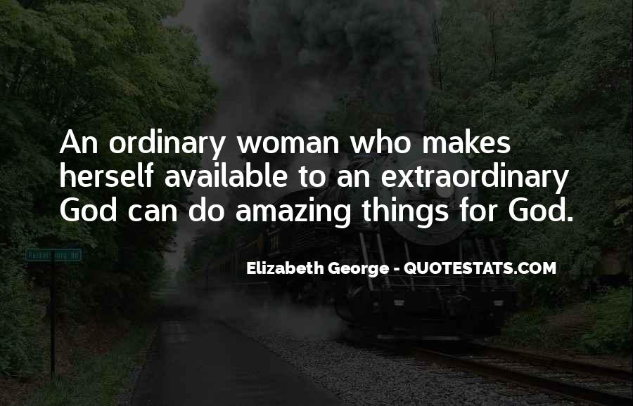 I Am An Ordinary Girl Quotes #544764