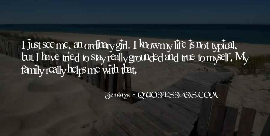 I Am An Ordinary Girl Quotes #614778