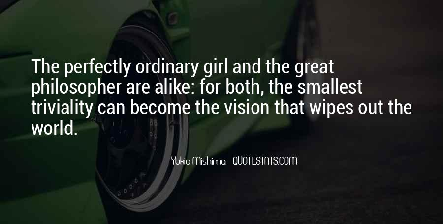 I Am An Ordinary Girl Quotes #726486