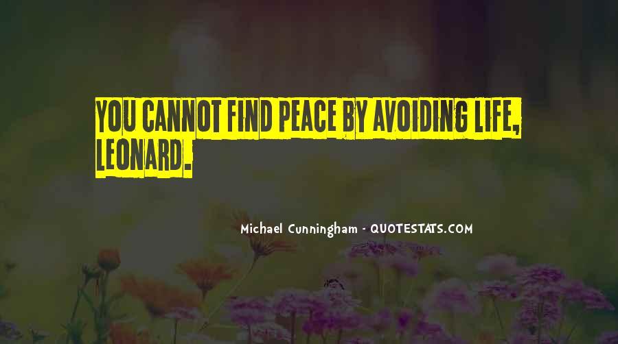 I Am Avoiding You Quotes #73248