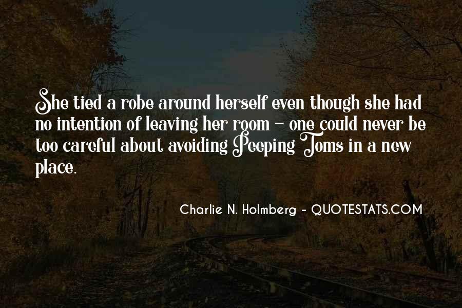 I Am Avoiding You Quotes #73439