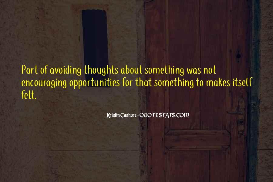 I Am Avoiding You Quotes #75410