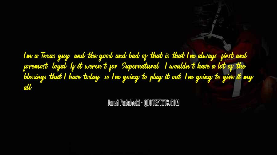 I Am Bad Guy Quotes #19044