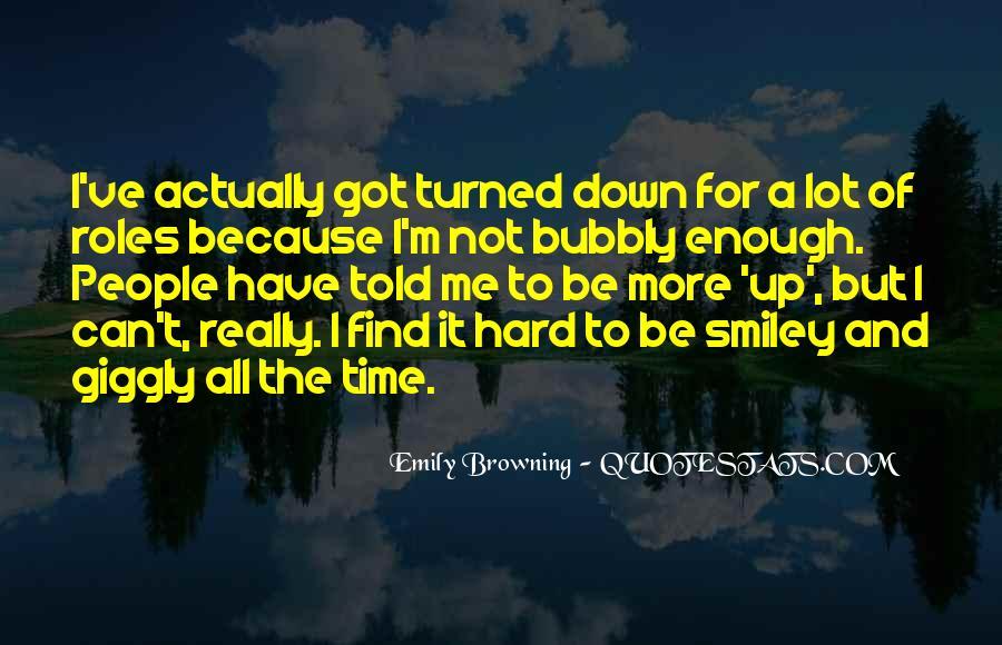 I Am Bubbly Quotes #535673
