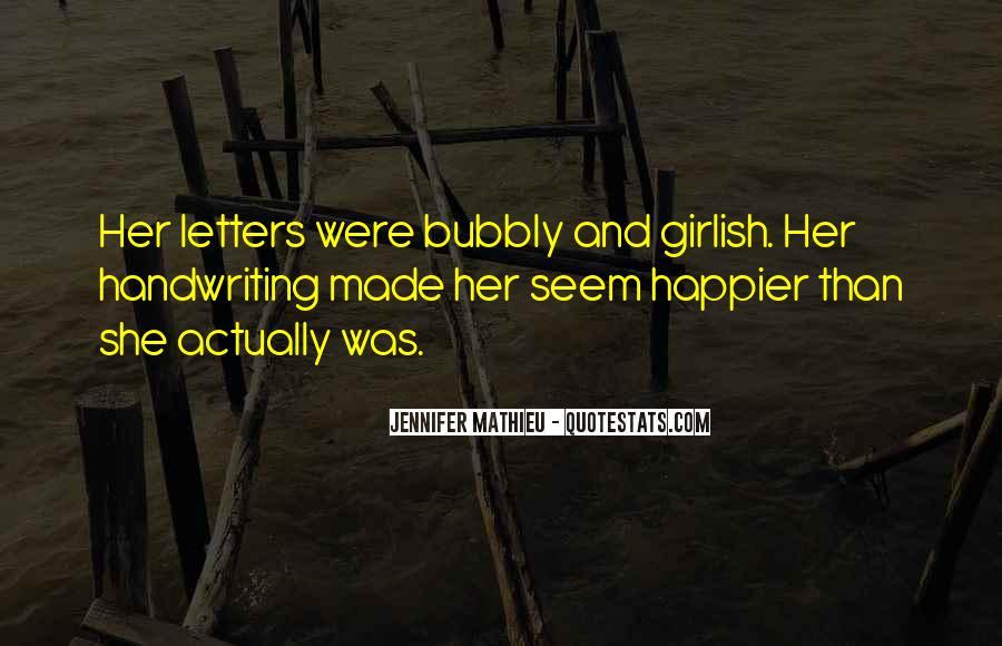 I Am Bubbly Quotes #774823