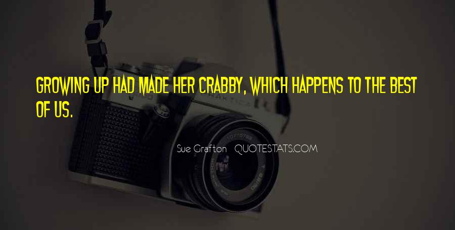I Am Crabby Quotes #527834