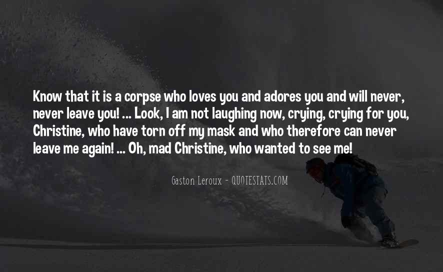 Crying for your love quotes