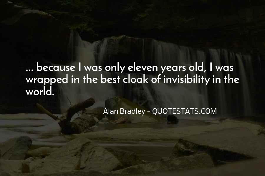 I Am Eleven Quotes #92066