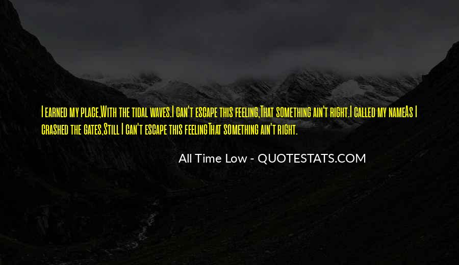 I Am Feeling Low Quotes #1073576