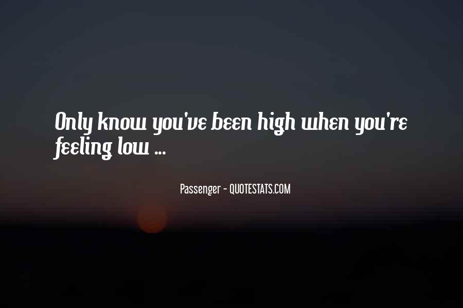 I Am Feeling Low Quotes #440953