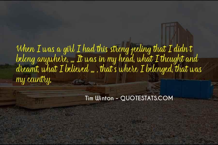 I Am Feeling Strong Quotes #163650