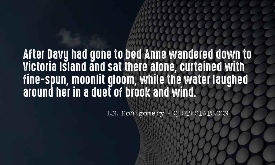 I Am Fine Alone Quotes #1067881