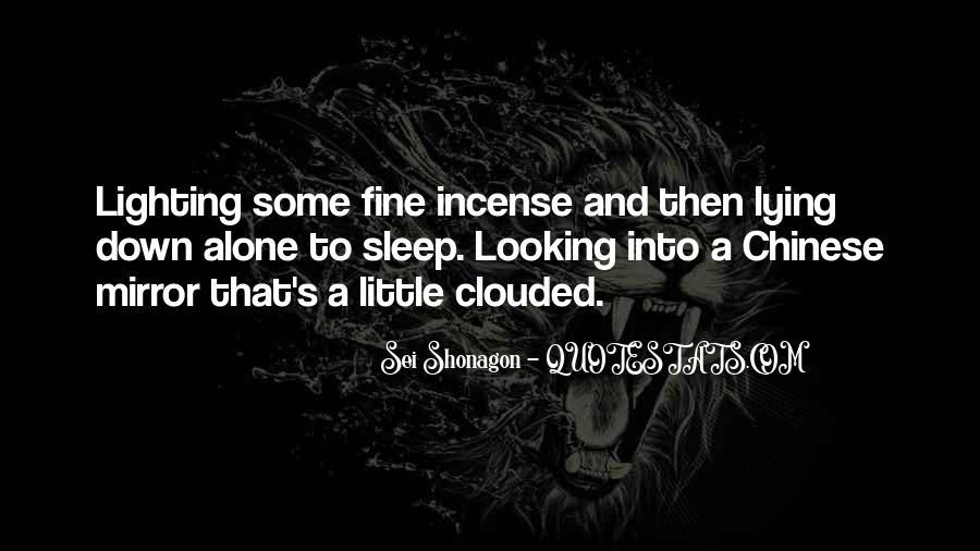 I Am Fine Alone Quotes #166677