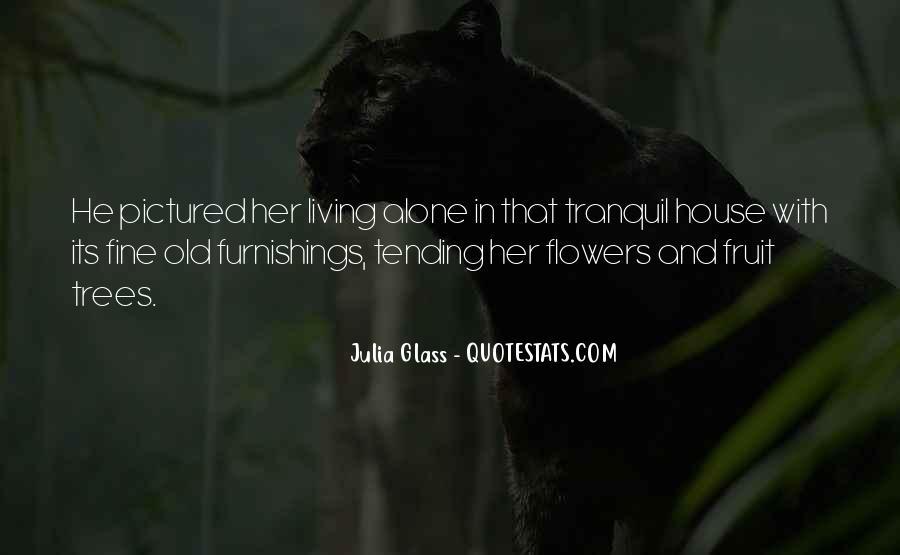 I Am Fine Alone Quotes #356215