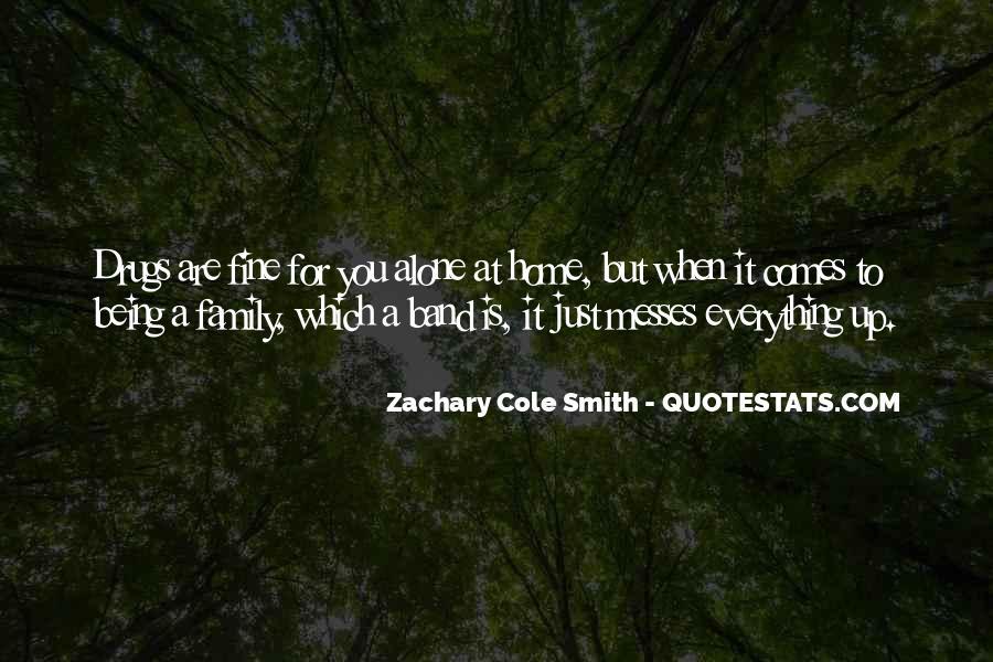 I Am Fine Alone Quotes #641141